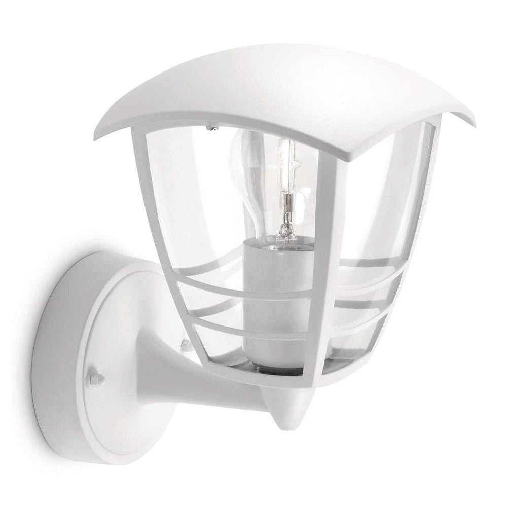 Philips 15380/31/16 White Outdoor Up Lantern Wall Light (153803116)
