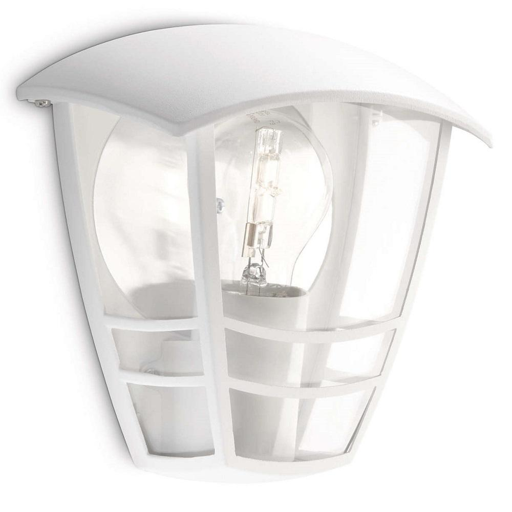Philips 15387/31/16 White Outdoor Flush Lantern Wall Light (153873116)