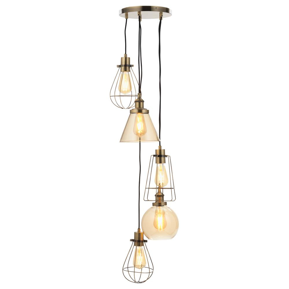 Oaks 1703/5 AB HALDOR | Discount Home Lighting