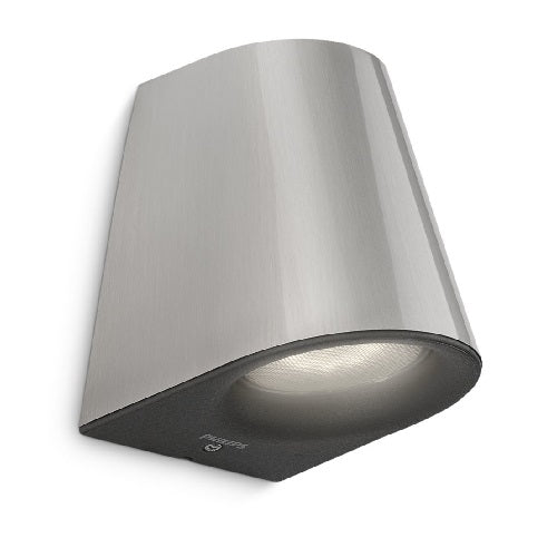 Philips 17287/47/16 Virga LED Stainless Steel Outdoor Down Wall Light