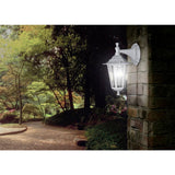 Eglo 22462 Laterna 5 Outdoor Matt White 1 Lamp Down Lantern Wall Light