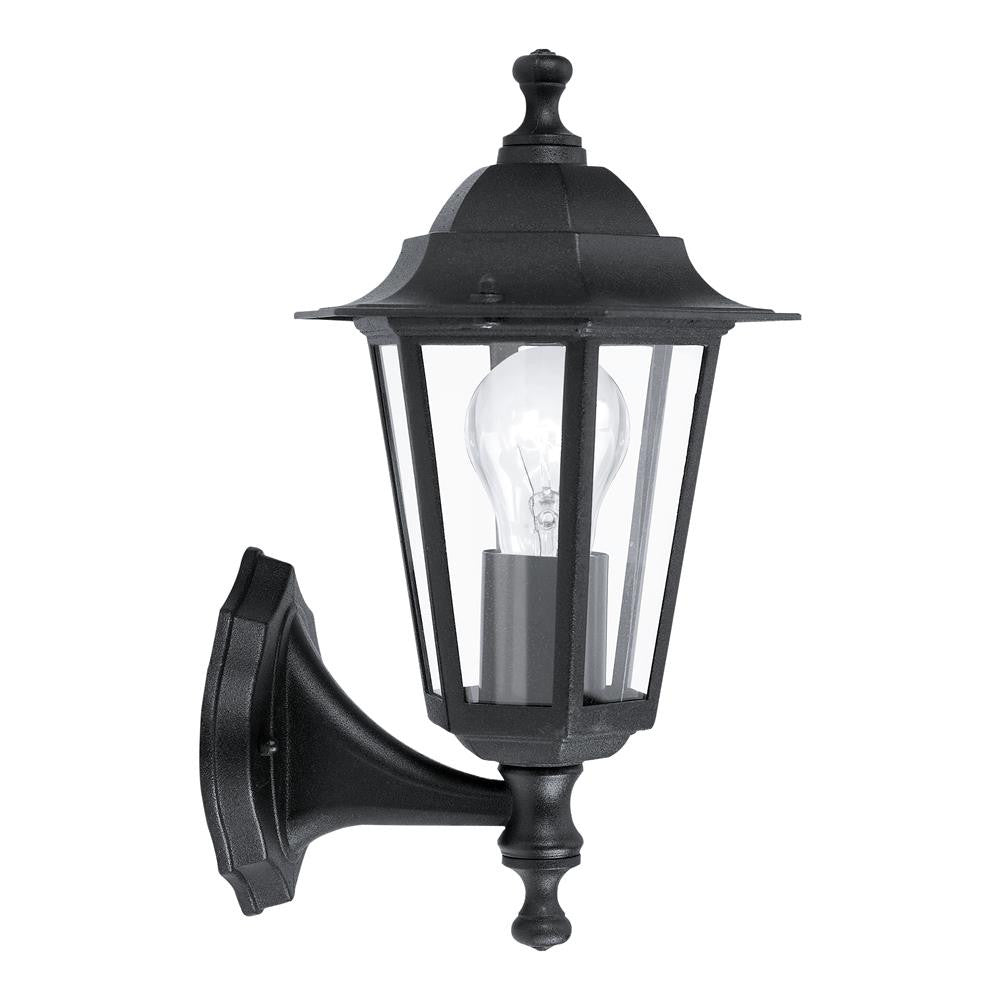 Cheap Home Lighting: Laterna 4 Outdoor Black 1 Lamp Up Lantern