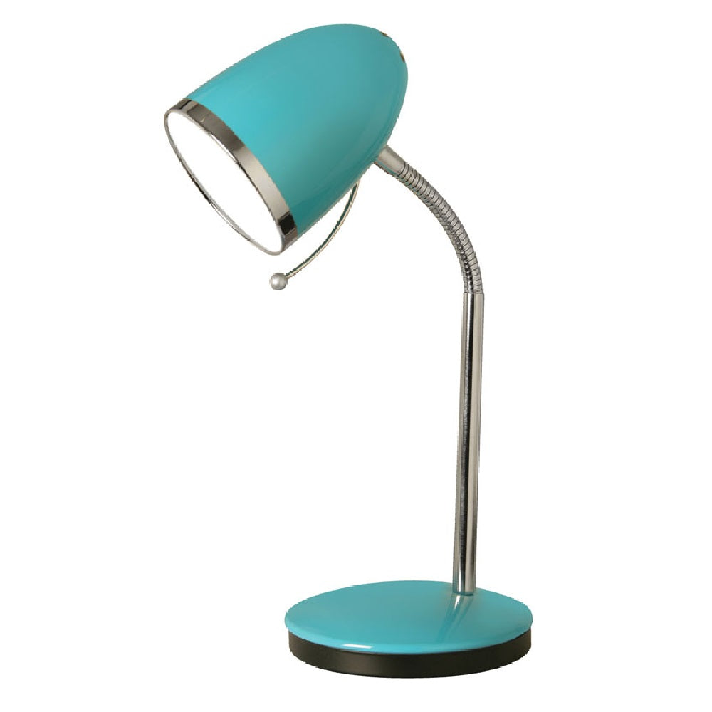 Oaks Madison Pale Blue Retro Desk Lamp
