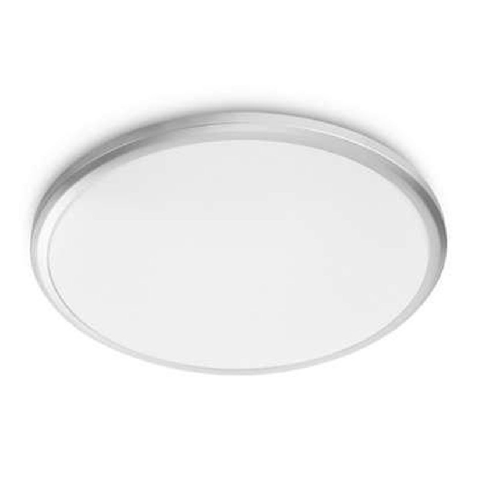 Philips 31814/87/16 Twirly LED Grey Round Flush Light (318148716)