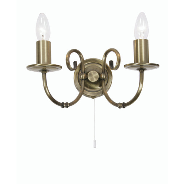 Oaks Lighting 3380/2 AB | Discount Home Lighting