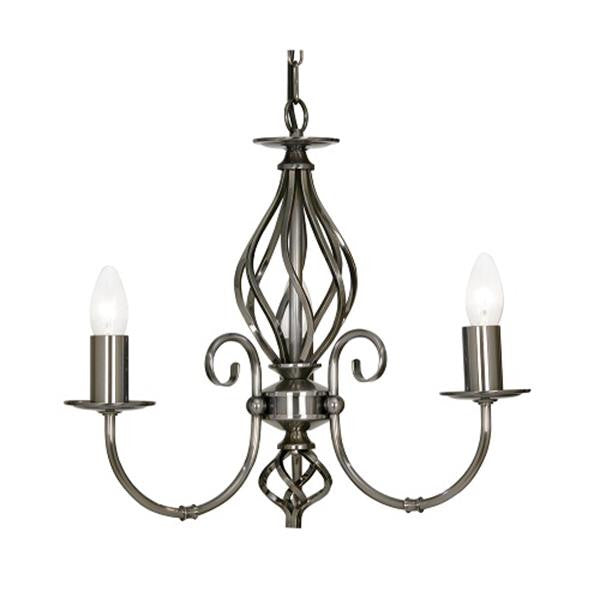 Oaks Lighting 3380/3 AS | Discount Home Lighting