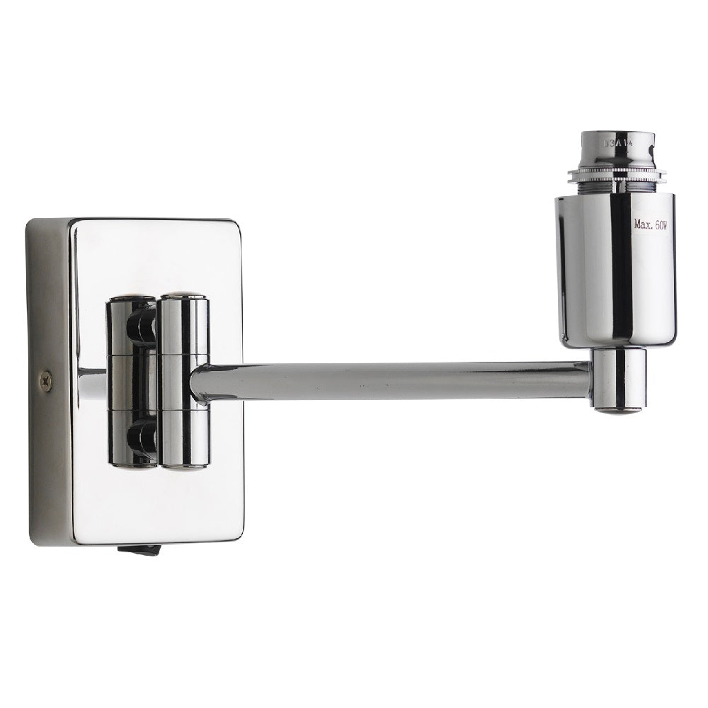 Polished Chrome Swing Arm Wall Bracket