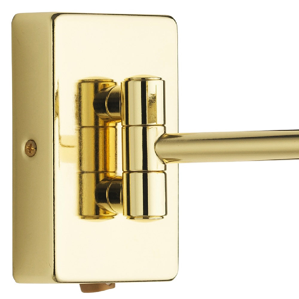 Britalia 220061 | Polished Brass Double Swing Arm Wall Light