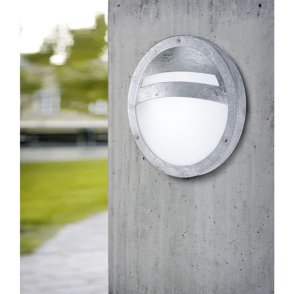 Eglo 88119 Sevilla Zinc Coated Modern Outdoor Wall Light
