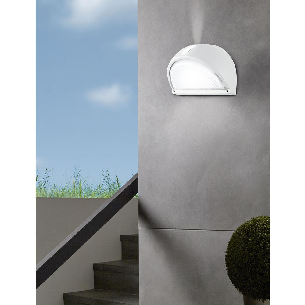 Eglo 89768 Onja White Modern Outdoor Wall Light