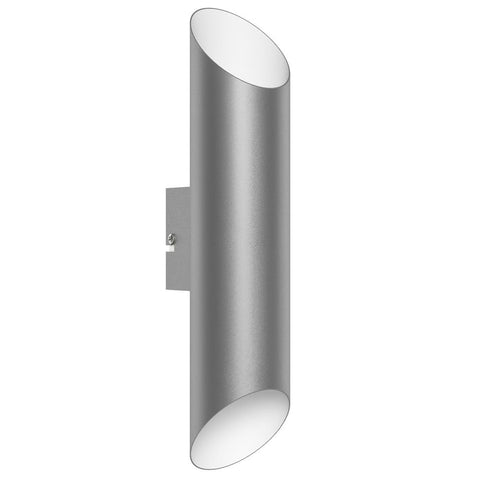 Eglo 94803 Agolada LED Stainless Steel White Outdoor Modern Up Down Wall Light