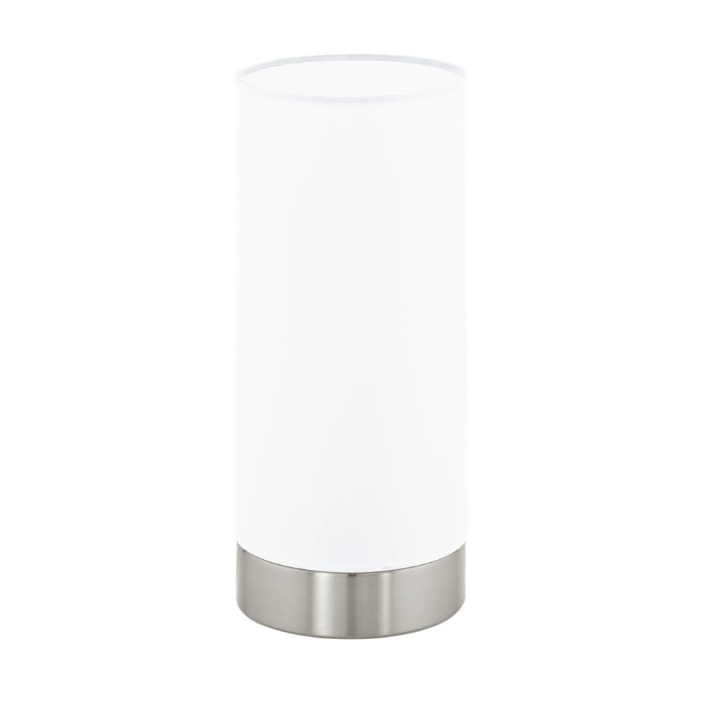 Eglo 95775 damasco 1 satin nickel opal glass cylinder table lamp glass modern cylinder table lamp eglo 95775 discount home lighting mozeypictures Choice Image