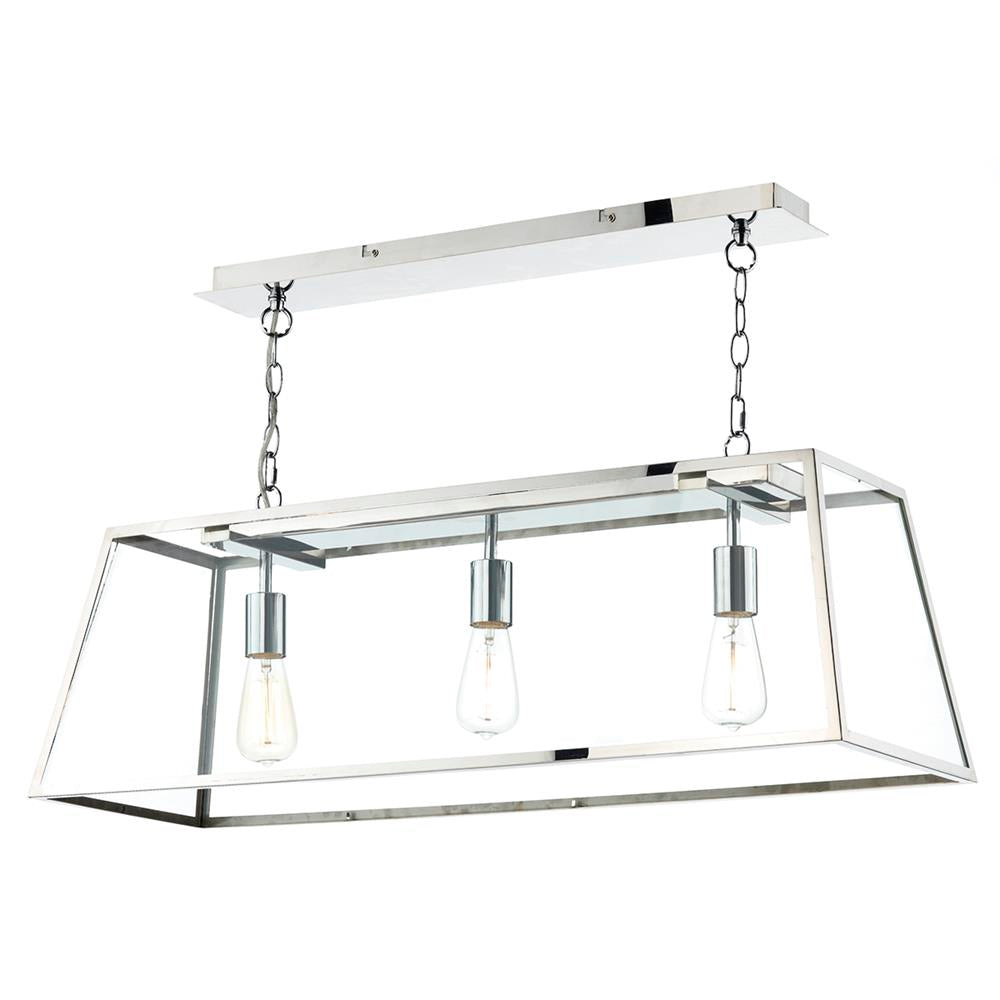 Dar aca0344 academy stainless steel 3 lamp pendant ceiling light dar aca0344 academy stainless steel 3 lamp pendant ceiling light dar aca0344 discount home lighting aloadofball Images