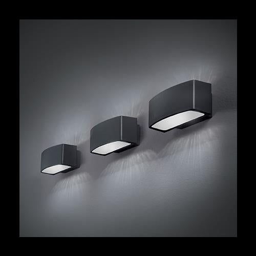 Ideal Lux ANDROMEDA AP1 ANTRACITE | Discount Home Lighting