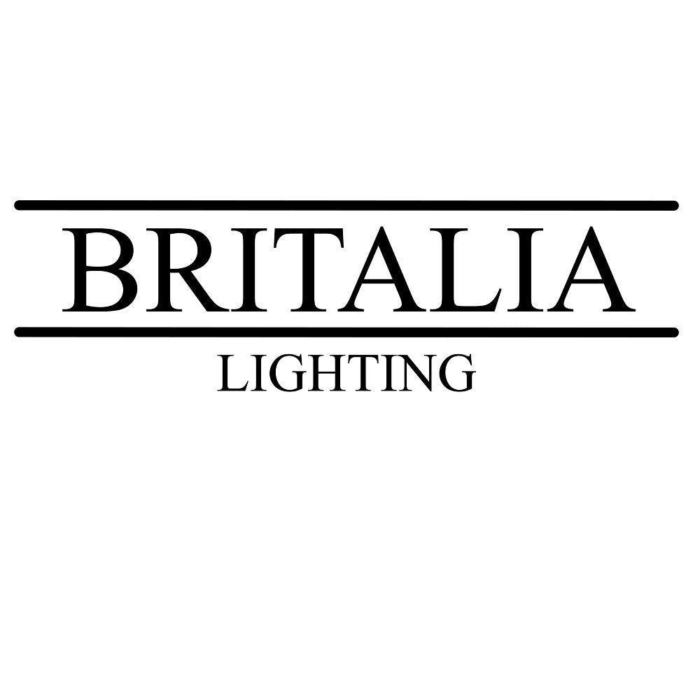 Britalia Gold & Acrylic Waterfall 3 Tier Pendant Light