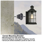 Easy Installation Black Corner Bracket