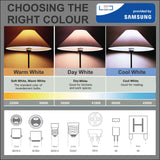 Samsung LED GU10 Spot Lamp 5W (35W) 110 Degree 400lm 4000k Cool White