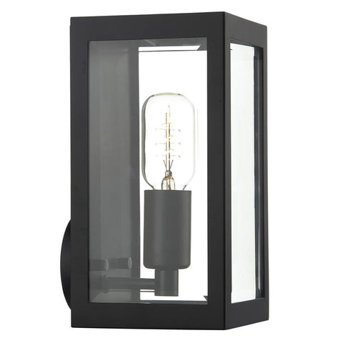 Black outdoor lighting black exterior lights outdoor black led dar era0722 era black outdoor rectangular lantern wall light mozeypictures Choice Image