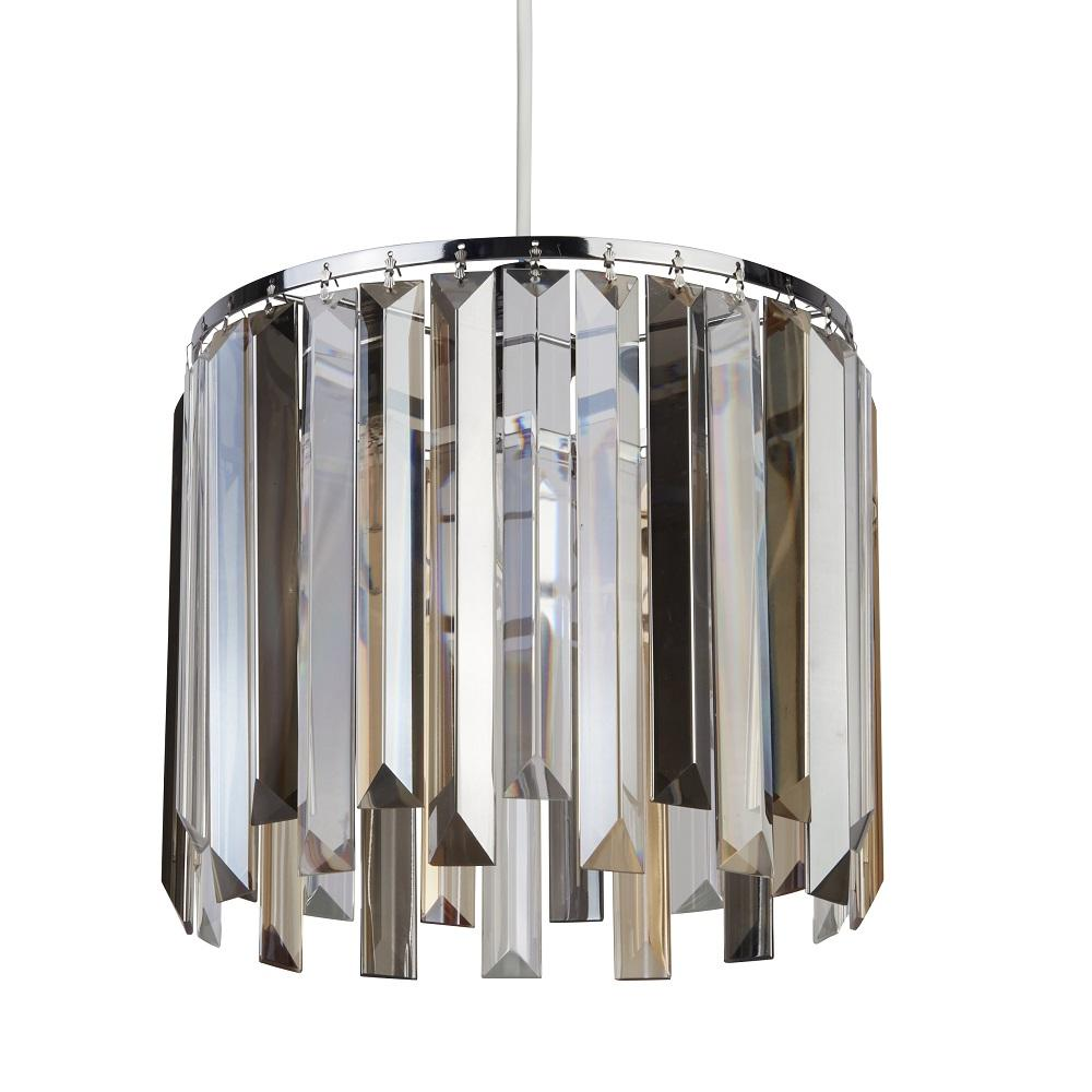 Britalia Lighting Polished Chrome and Glass None Electric Shade