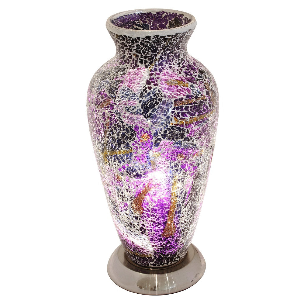 Febland LM79PL | Mosaic Vase Lamp | Discount Home Lighting