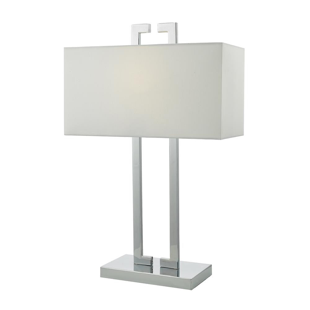 luxury b22 table lamps polished chrome
