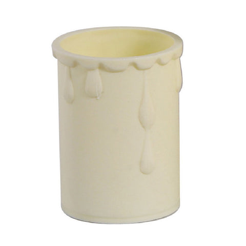 Oaks Lighting OA DRIP 02 CR Cream Candle Drip 33mm x 50mm
