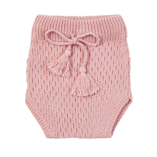Arnie Knit Bloomers - Pink