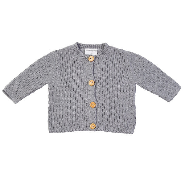Arnie Knit Cardigan - Grey