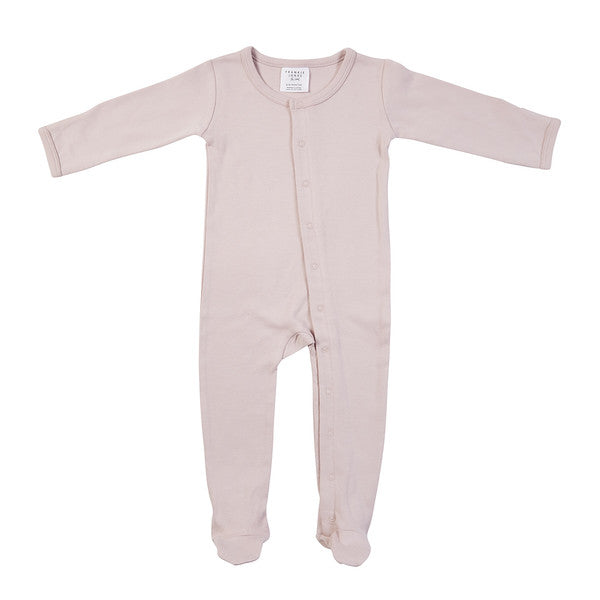 Frederik Footed Growsuit - Pink