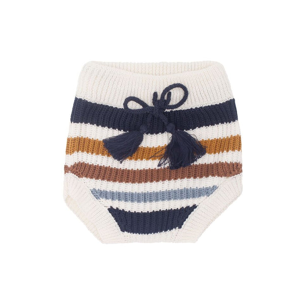 Harlem Stripe Bloomer - Navy Combo