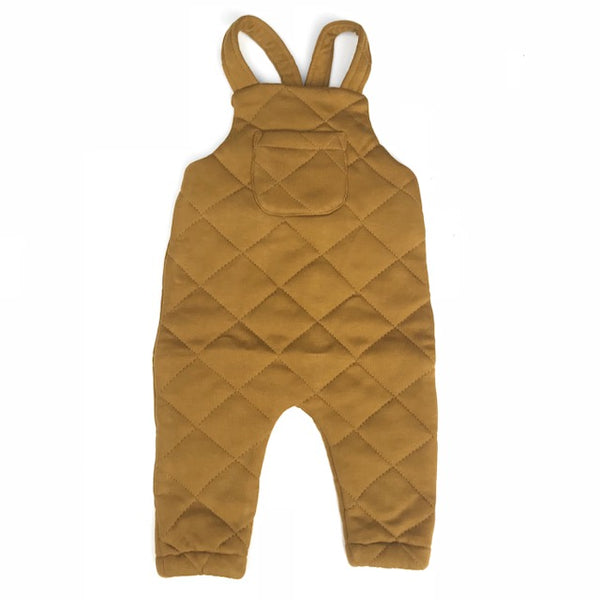 Quentin Quilted Overall - Golden