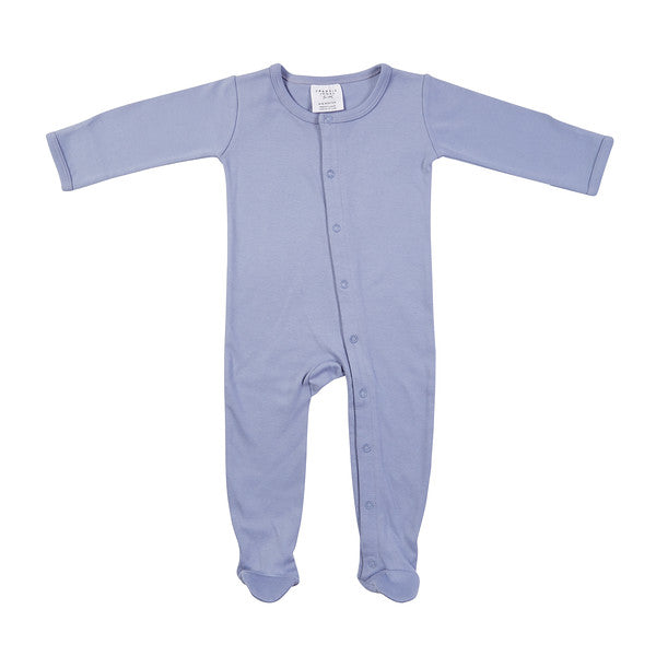Frederik Footed Growsuit - Chambray