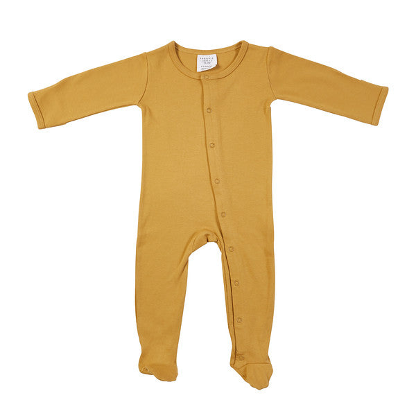 Frederik Footed Growsuit - Mustard