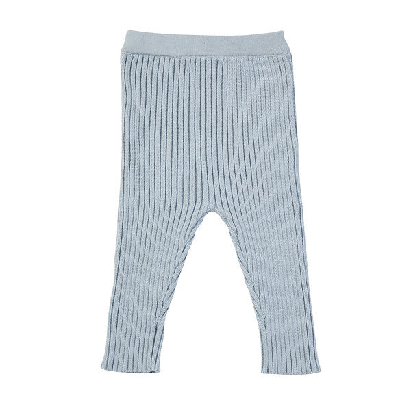 Kingston Knit Legging - Duck Egg Blue