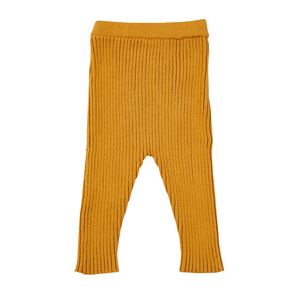 Kingston Knit Legging - Mustard