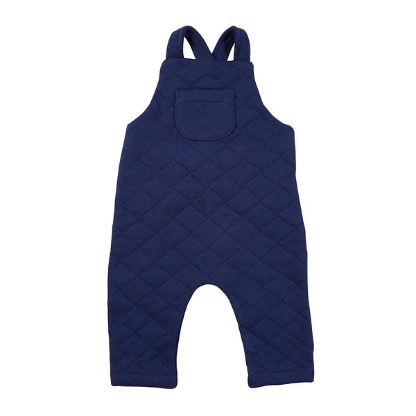 Quentin Quilted Overall - Navy