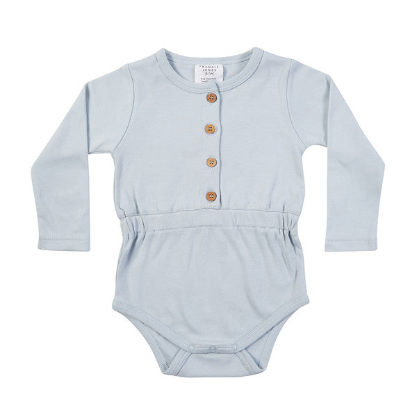 Skylar Onesie - Duck Egg Blue