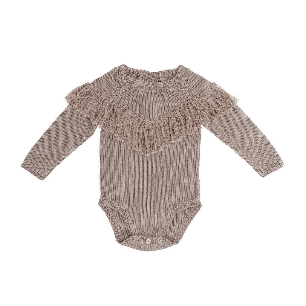 All you need is love knit onesie - Natural