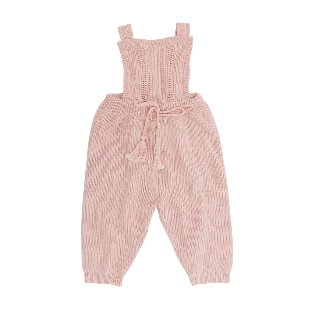 How to master knitting overalls for a newborn 83
