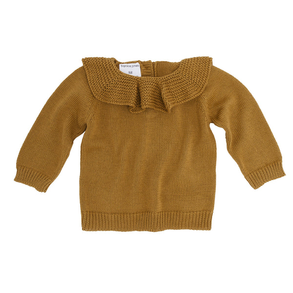 Eliza Ruffle Sweater