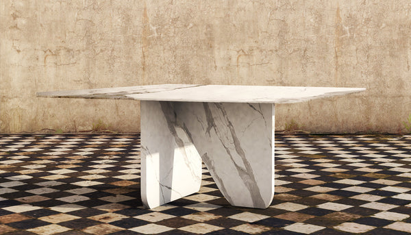 Marble Table White Statuario