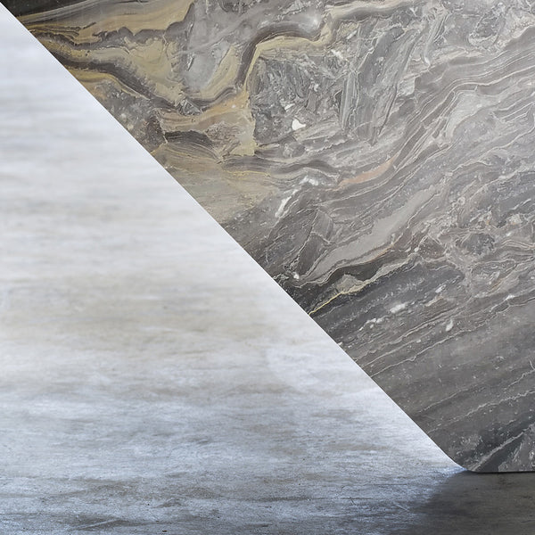 GREY ARABESCATO MARBLE TABLE