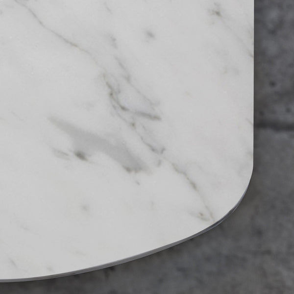 WHITE CARRARA MARBLE TABLE
