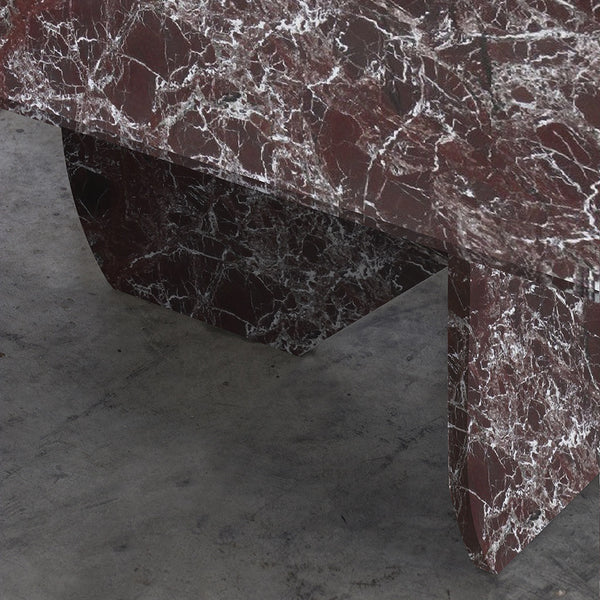 RED LEVANTO MARBLE TABLE
