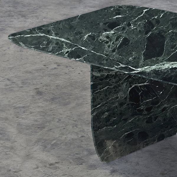 GREEN ALPI MARBLE TABLE