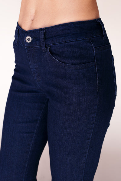 Bootcut Stretch Denim Jeans