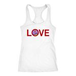 Guam LOVE Racer Back Tank