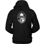 Guam Seal with Stars Hoodie-Back Print