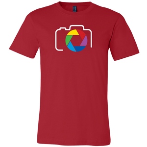 Color Camera Icon Tshirt
