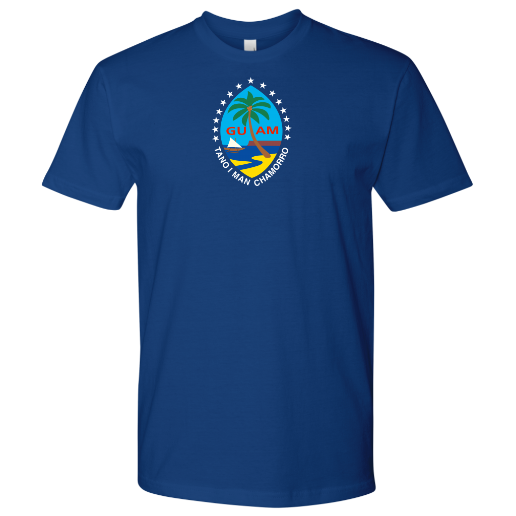 Guam Color seal with Stars shirt -min